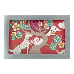 chinese new year dog belt buckle - accessories accessory gift idea stylish unique custom