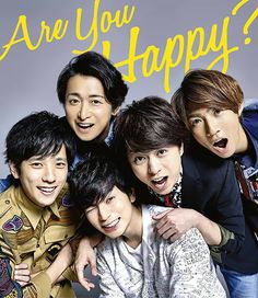 """Arashi """"Are You Happy?"""" LE version from eyes-with-delight.tumblr.com"""