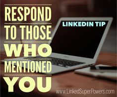 Don't forget to frequently monitor your LinkedIn Notifications and engage with those who mentioned you on the LinkedIn Platform. Through this you can nurture professional relationships, offer your expertise and humanize your brand. For numerous LinkedIn Tips & Strategies, visit our Blog at: https://linkedsuperpowers.com/blog #LinkedIn #Mentions #Engagement #Tip #LinkedSuperPowers