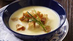 Krémová česneková polévka Fondue, Toast, Pudding, Cheese, Ethnic Recipes, Desserts, Tailgate Desserts, Deserts, Custard Pudding