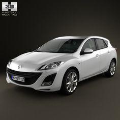 model of Mazda 3 Sedan 2011 Mazda 3 Sedan, Mazda 3 Hatchback, Mazda 3 2011, Tire Texture, Mazda Cars, Car 3d Model, Car Ins, Cars And Motorcycles, Dream Cars