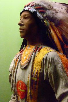 Male clothing for a member of the Crow Tribe by mharrsch, via Flickr