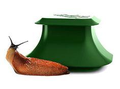 SnailX Schneckenfalle, hocheffiziente Schneckenbekämpfung, Starter-Set, Falle inkl. Lockmittel