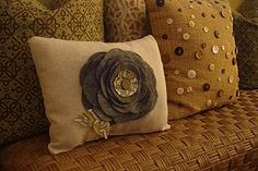 love both of these pillows
