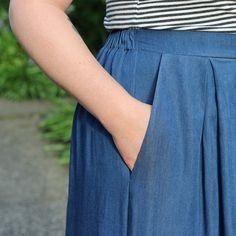Winslow Culottes Hack: Slash Pockets – Helen's Closet