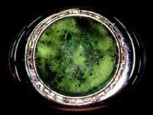 Imelda Marcos' 50 carat Emerald Compact.
