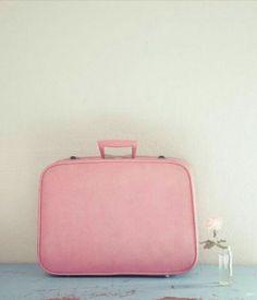 Pink travelbag