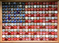 Everyone wonders what I am going to do with all of my beer bottle caps.... =) My answer - What couldn't I do. ~jg