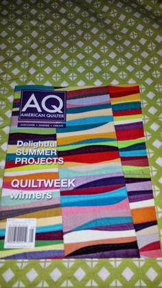 Sally's Quilting Corner: Guess Who got Published Again!!!