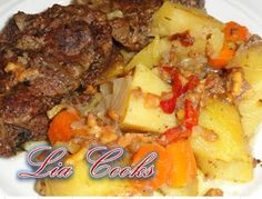 Pot Roast, Mashed Potatoes, Pork, Beef, Ethnic Recipes, Carne Asada, Whipped Potatoes, Kale Stir Fry, Meat