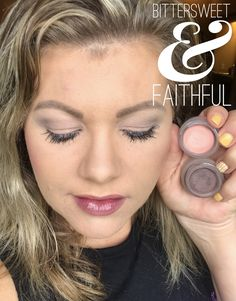 Younique Splurge Cream Shadow: Bittersweet & Faithful