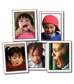 Facial Expressions Learning Cards - Carson Dellosa Publishing Education Supplies