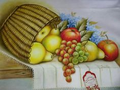Fruit Painting, Fabric Painting, Sketches, Apple, Maze, Creative, Classroom, Dish Towels, Hampers
