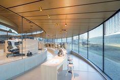 Musée Atelier Audemars Piguet is a Contemporary Celebration of Time German Architecture, Architecture Office, Museum Architecture, Audemars Piguet, Glass Pavilion, Roof Shapes, Clerestory Windows, Luxury Watch Brands, Big Design
