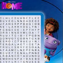 "Wordsearch Dreamworks ""Home"" Free Printables and Activities 