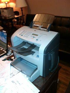 Item #1-39--HP LaserJet M1319f MPG Printer (on CJW's desk)