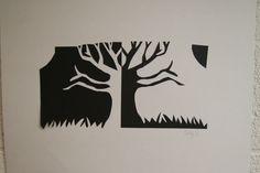 Tree Notan   Avery H's Art Portfolio