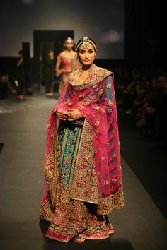Ritu Kumar's 'Panchvastra' Collection, 2012