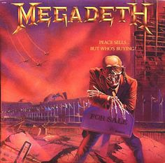 Cryptic Writings, Megadeth Albums, Metallica Black Album, Countdown To Extinction, The Who Live, Peel Sessions, Isle Of Wight Festival, Solo Ads, New Vinyl Records