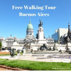 It was a Good Friday and we were excited about our Free Walking Tour visiting the major sites of Buenos Aires in Argentina.