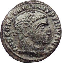 Byzantine (300-1400 Ad) Ancient Byzantine Phocas Bronze Follis Coin 7th Century Ad Fast Color