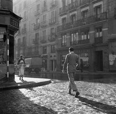 Walking in the sunlight.