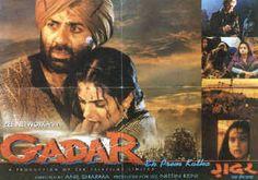 Gadar movie poster http://leojpeo.blogspot.in/2012/06/bollywood-stereotypes.html
