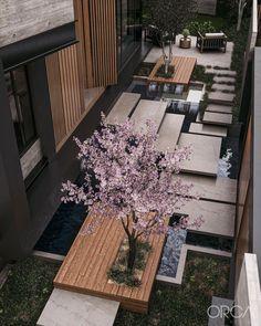 House Architecture Styles, Amazing Architecture, Interior Architecture, Contemporary Architecture, Interior Exterior, Exterior Design, Home Interior Design, Japanese Style House, Luxury Landscaping