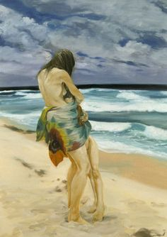 Eric Fischl | Embraced (By the Sea), 1996