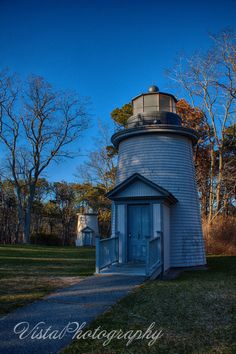late afternoon light on the 3 sisters #Lighthouse of Cape Cod. Scenic Massachusetts images and New England Photography