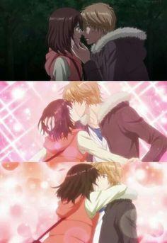 Ookami Shoujo to Kuro Ouji..THIS MOMENT♥♥♥ (V: Kyaaa..I love theem *-*)