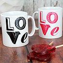 Love Font Mug Unique Gifts, Bear, Mugs, Tableware, Cards, Stuff To Buy, Dinnerware, Tablewares, Bears