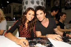 The CW Network — TVD - Signing at Comic-Con 2013!