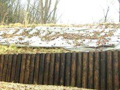 muro contencion madera - Buscar con Google