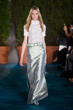 Tory Burch Spring 2014 Runway Pictures - StyleBistro