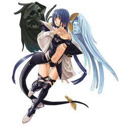 Dizzy - Characters & Art - Guilty Gear Isuka