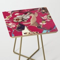 Smoragdova Furniture | Society6 Decor, Side Table, Furniture, Table, Home Decor