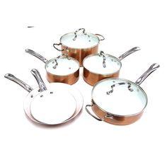 Tectron 10 Piece Cookware Set & Reviews   Wayfair