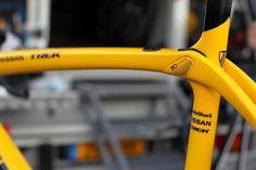 TdF Bike Build: Fabian's Trek Domane - Yellow