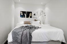 Huis vol met zwart, wit en grijstinten
