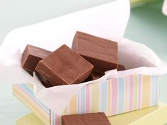 Once you've tried this easy recipe for simple chocolate fudge, it'll be all you can do to not make it weekly!