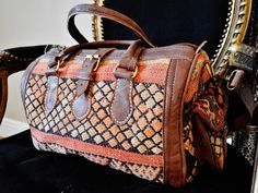 Moroccan Brown Kilim Hand Tote Bag Berber style Medium Size -perfect for bag, tote, handbag, purse, weekender,gifts