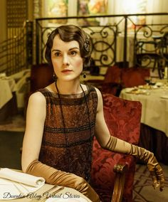 Lady Mary Crawley, Downton Abbey S6 E4 [1925] | Costume designer Anna Mary Scott…