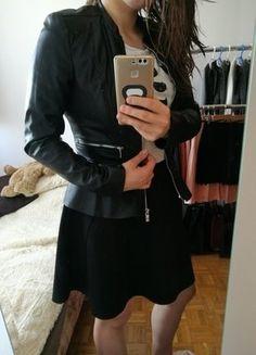 Kup mój przedmiot na #vintedpl http://www.vinted.pl/damska-odziez/kurtki/18152005-piekna-cienka-ramoneska-z-baskinka-amisu-new-yorker