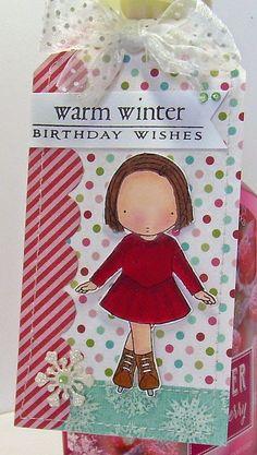 Warm Wishes Birthday Tag