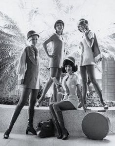 I love the groovy outfits worn by 1960's Airline Attendants! So retro and beautiful!