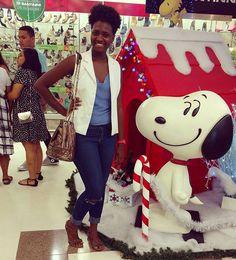 Look de sábado com o Snoopy  #lookdodia #fashionblogger #fashion #ootd #moda #style #blogueiracarioca #streetstyle