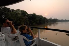 Charles Munn's ecotour company, SouthWild; friend of a friend highly recommends (his tour: Fazenda Santa Teresa, then the floating Jaguar Suites on the Cuiaba River) - and yes, he saw a jaguar!! (Pantanal, Brazil)