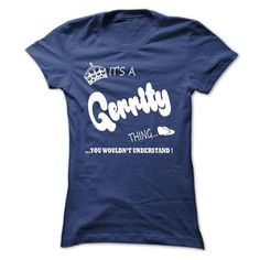 Cool its a Gerrity Thing You Wouldnt Understand  T Shirt, Hoodie, Hoodies T shirts