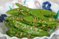 NHK WORLD TV | Your Japanese Kitchen | Snow peas dressed with sesame